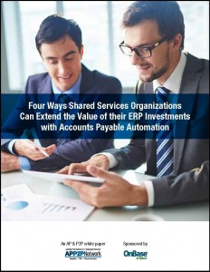 4_Ways_Shared_Services_Organizations_Extend_Value_of_ERP_ Investments_with_Accounts_Payable_Automation