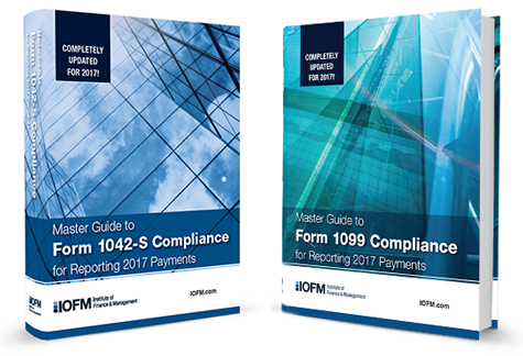 Master Guides to 1099 & 1042-S Compliance