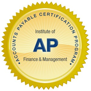 free online accounts payable certification