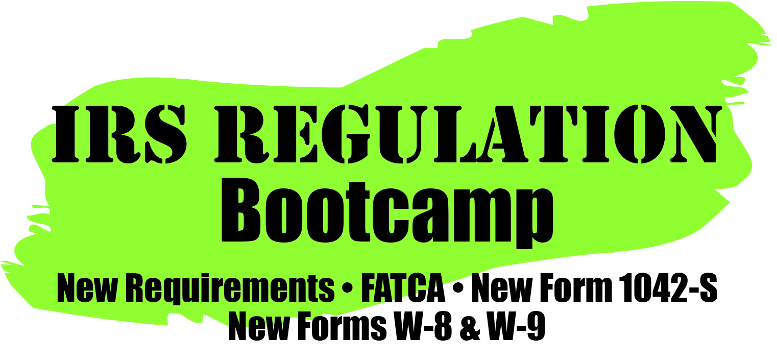 1042 s training the 2016 fatca updates are now in effect are you in compliance this irs regulation bootcamp covers form 1042 s falaconquin