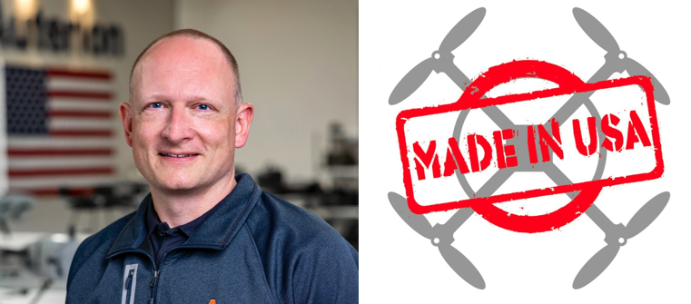 Romeo Durscher Speaks to the FTC's Redefinition of Made in the US and Its Role in Drone Security