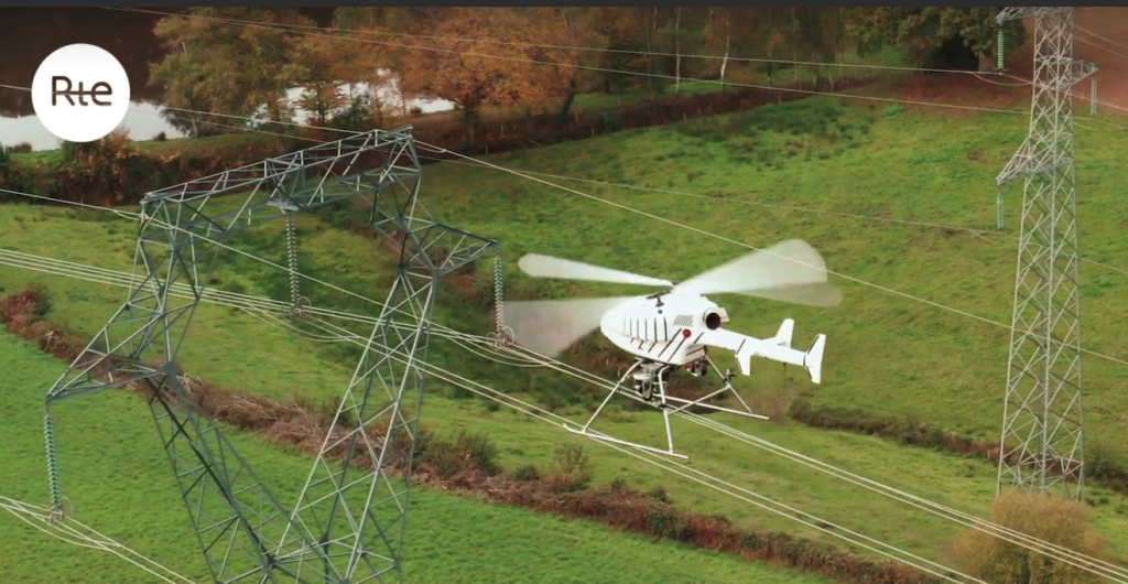 SwissDrones Gives Helicopters a Run for Their Money in RTE Powerline Inspection Challenge