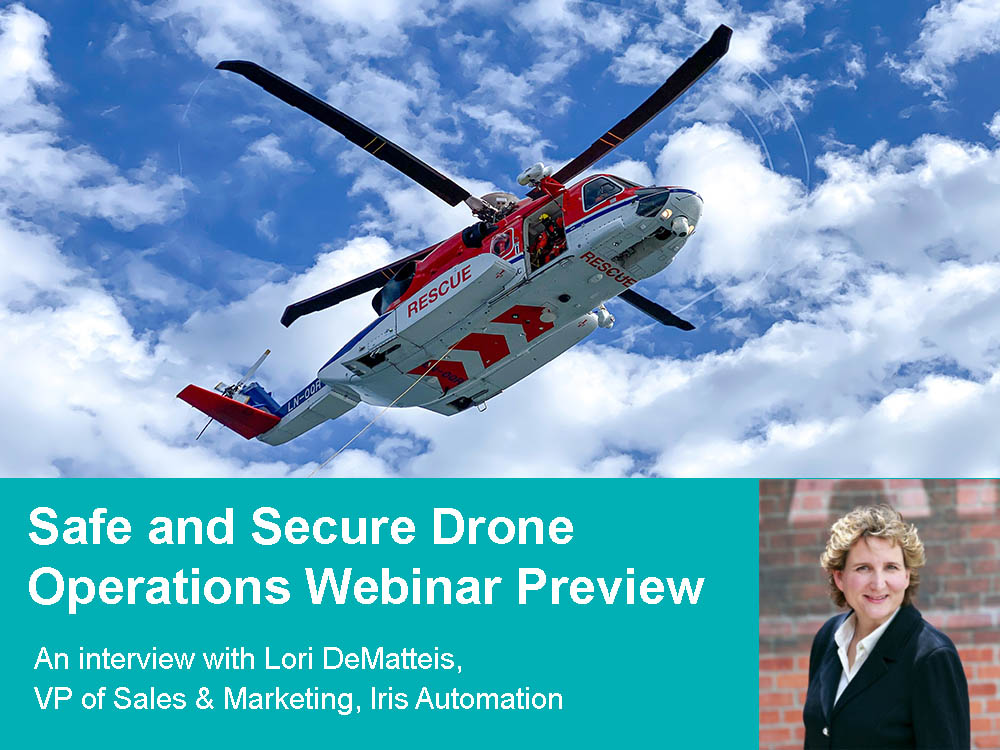 Launching a Safe and Secure Commercial Drone Program with Iris Automation
