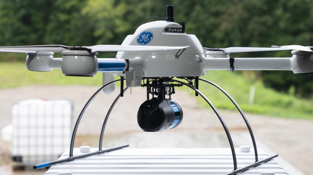 Microdrones announces longer range lidar mapping drone