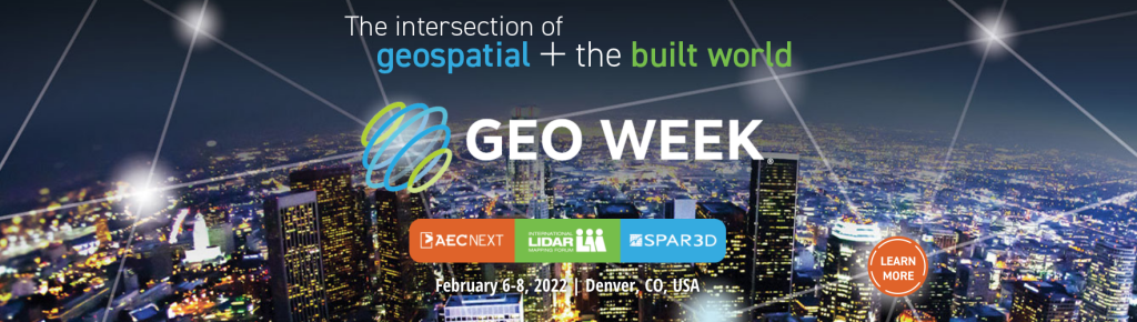 Geo Week Conference Program and Speaker Lineup Announced