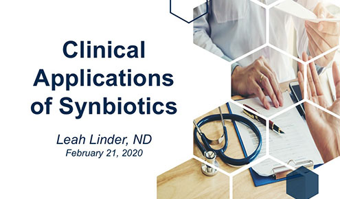 Clinical Application of Synbiotics