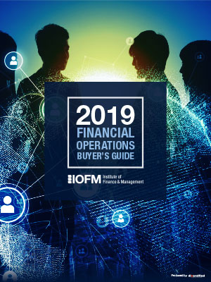 2019 Financial Operations Buyer's Guide