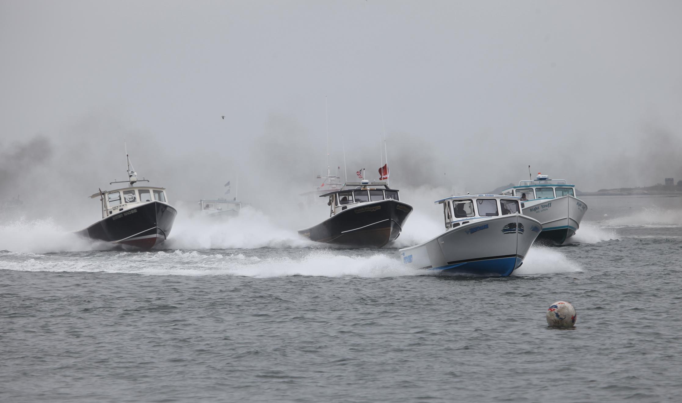 Moosabec Reach lobster boat races mark ...