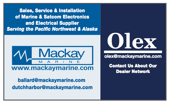 Mackay Marine and Mackay-Olex showcase LIVE displays and new software for navigation, fishing, & surveying at Pacific Marine Expo