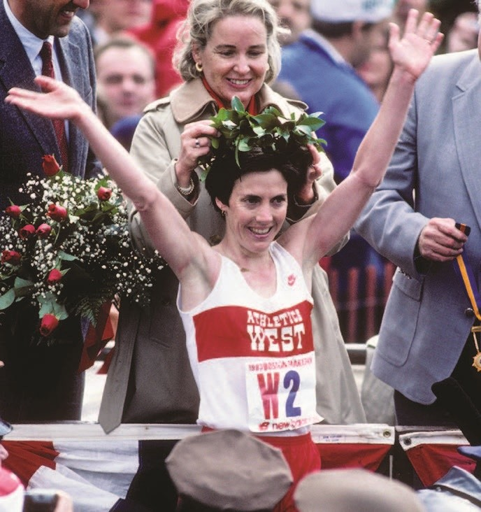 The First Lady of Running