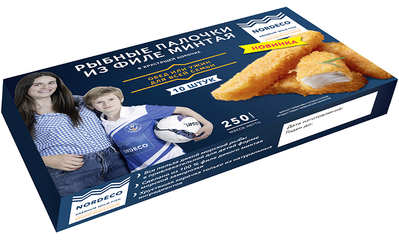 Russian Fishery bringing Nordeco-brand fish fingers to domestic market