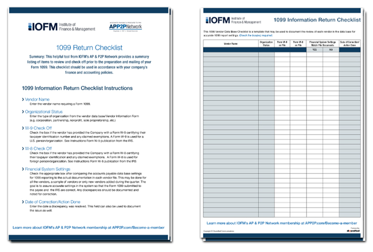 Download the 1099 Checklist