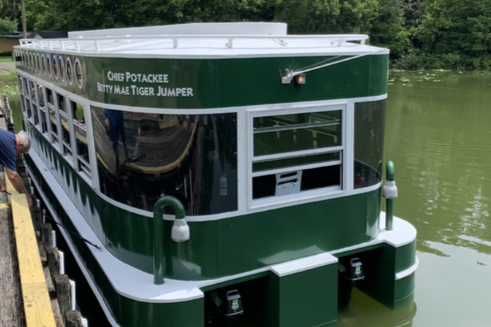 St. Johns Ship Building delivers all-electric glass bottom tour boat