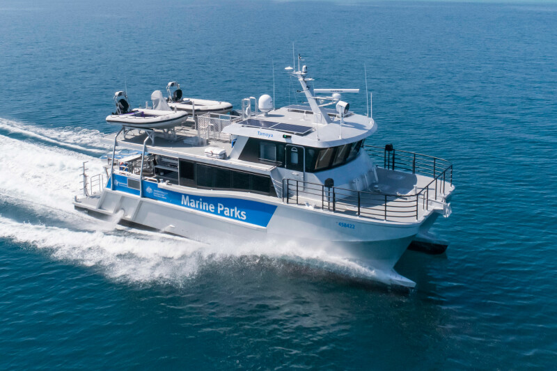 Incat Crowther delivers patrol boat, new landing craft construction underway