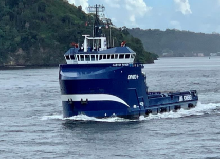 Harvey Gulf takes delivery of second tri-fuel OSV